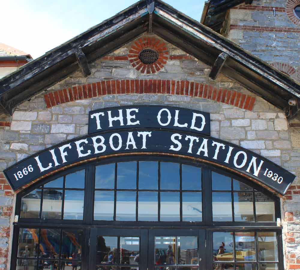Sign - The Old Lifeboat Station, 1866-1930