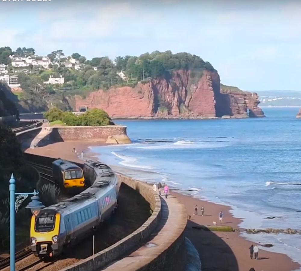 Riviera Line near Teignmouth