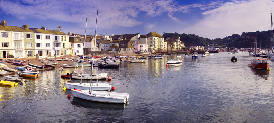 Teignmouth panorama