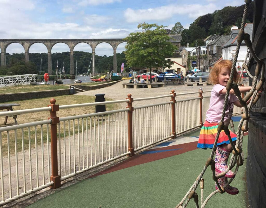 Calstock play area