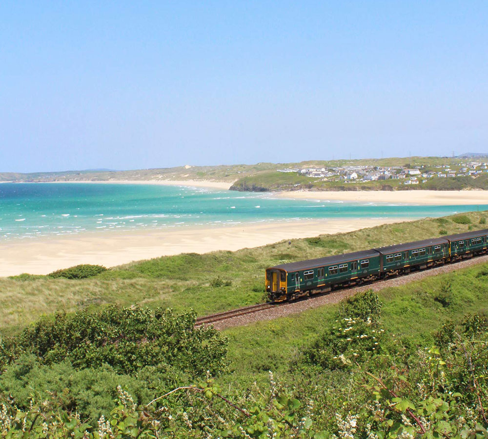 St Ives Bay Line train