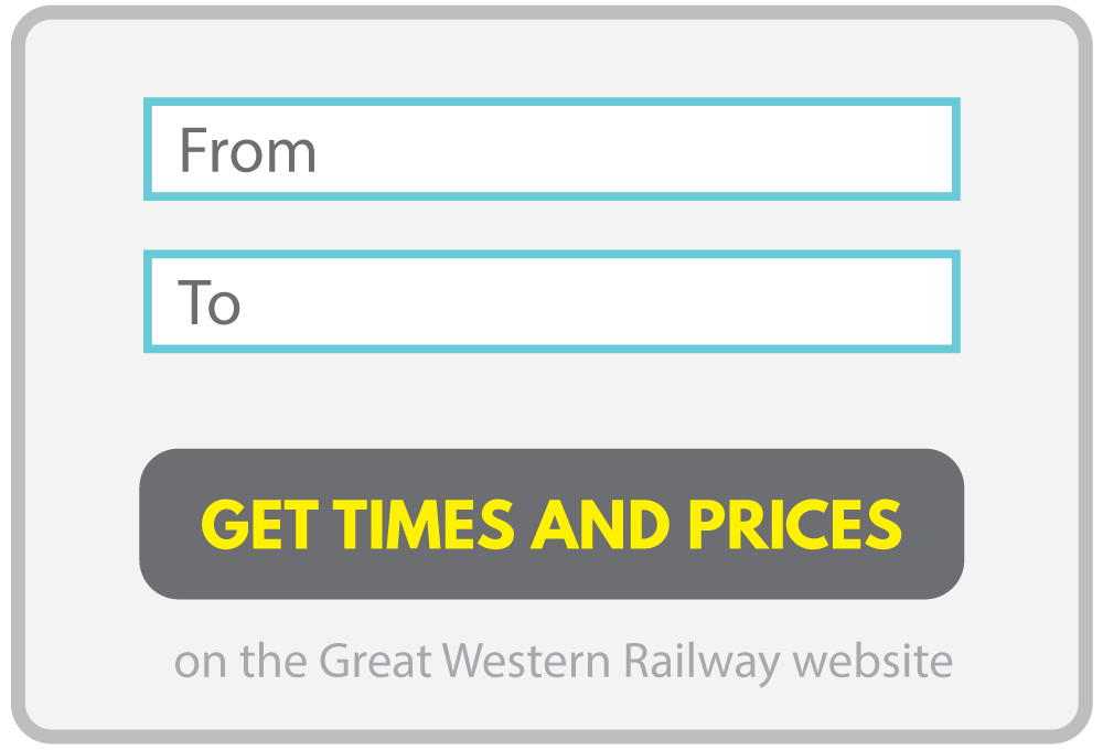 Tap to get train times and prices on the GWR website
