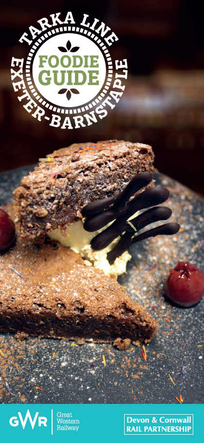 Tarka Line foodie guide front cover
