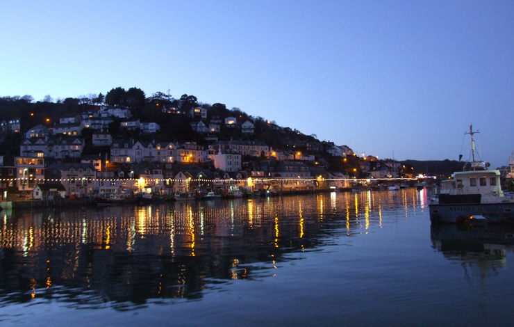 Winter in Looe - photo by Mark Camp