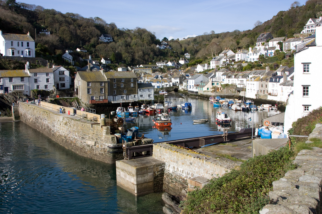 Polperro by Nick Hubbard under Creative Commons license CC BY 2.0