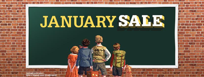 GWR January Sale