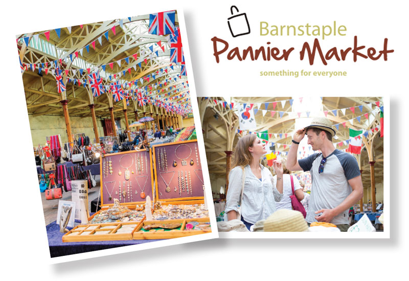 Barnstaple Pannier Market - something for everyone