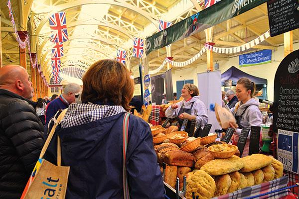 Foodfest at Barnstaple Pannier Market