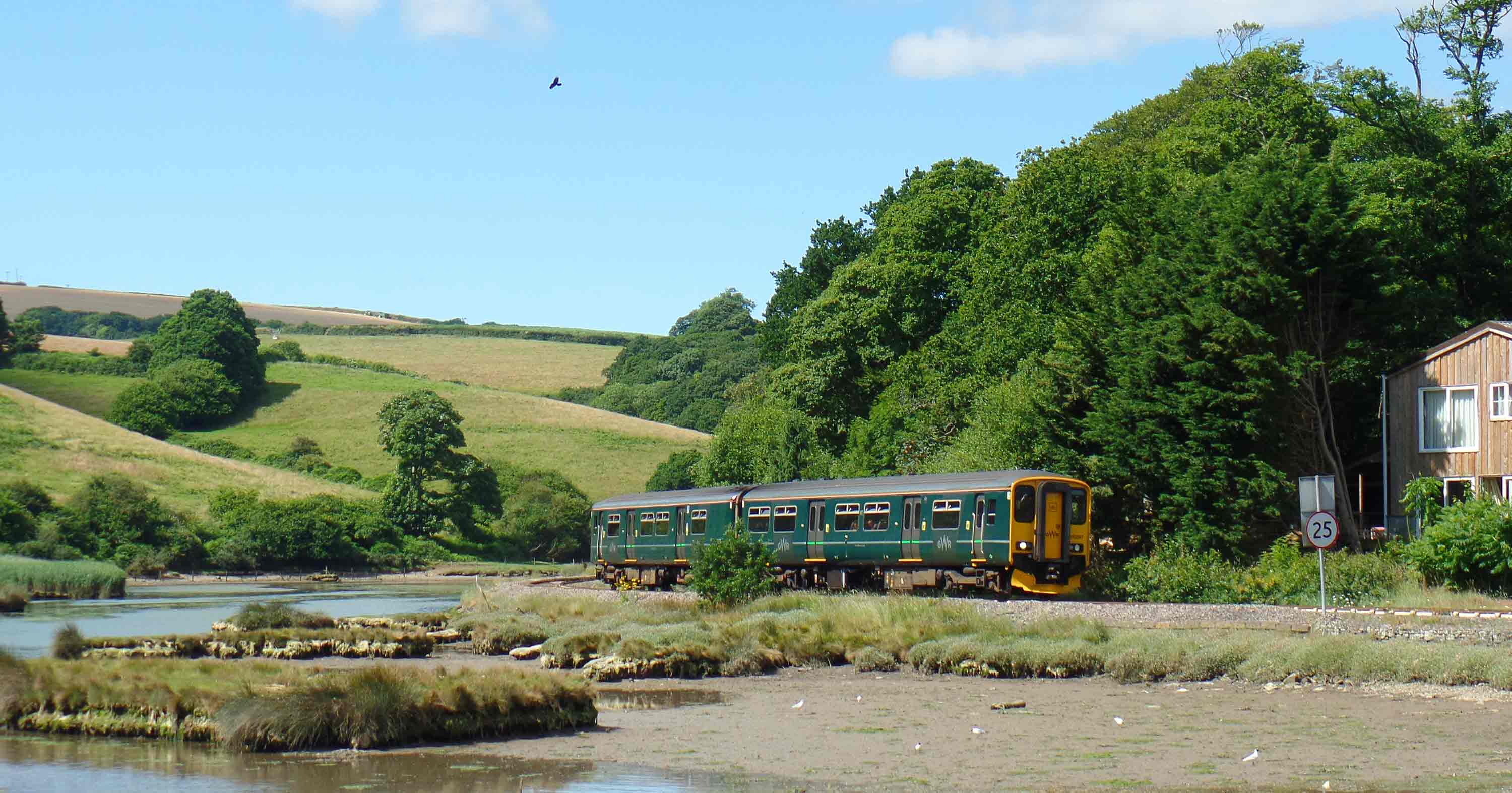 Terras Crossing on the Looe Valley Line