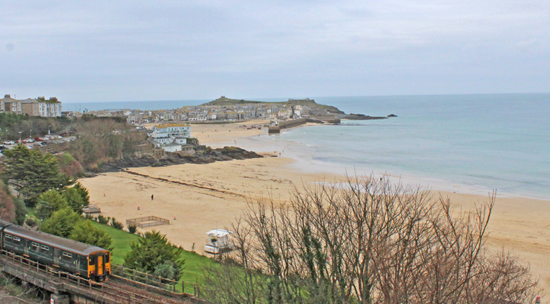 St Ives in winter