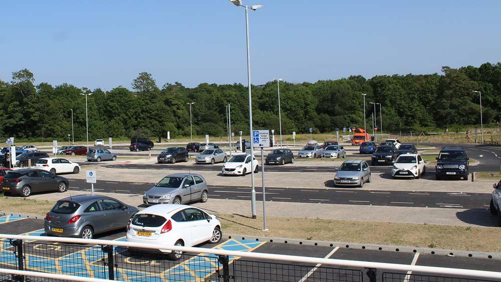 St Erth station south car park