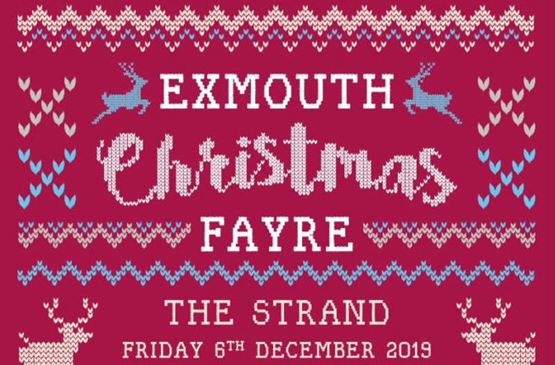 Exmouth Christmas Fayre - The Strand, Friday 6th December