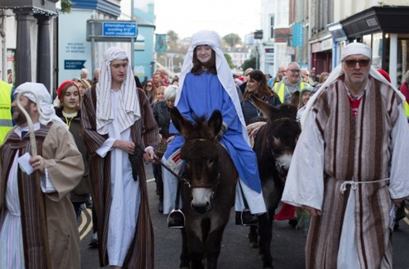 Falmouth's live nativity