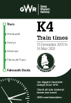 Maritime Line timetable cover - December 2019