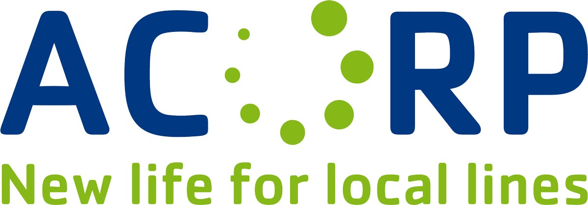 ACoRP New life for local lines - logo