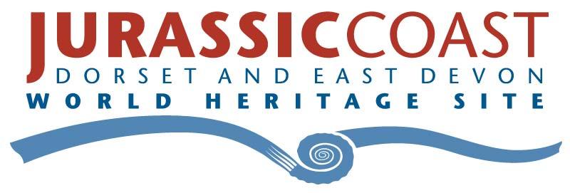 Jurassic Coast Dorset and East Devon World Heritage Site logo