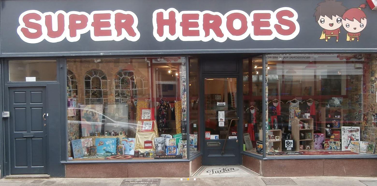 Superheroes, Barnstaple