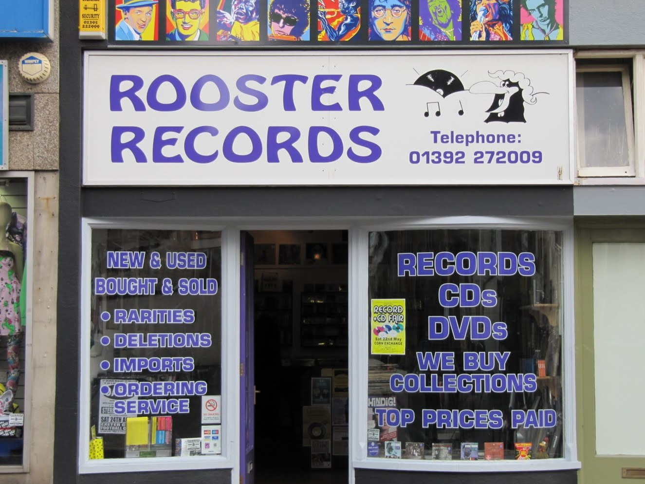 Rooster Records, Exeter