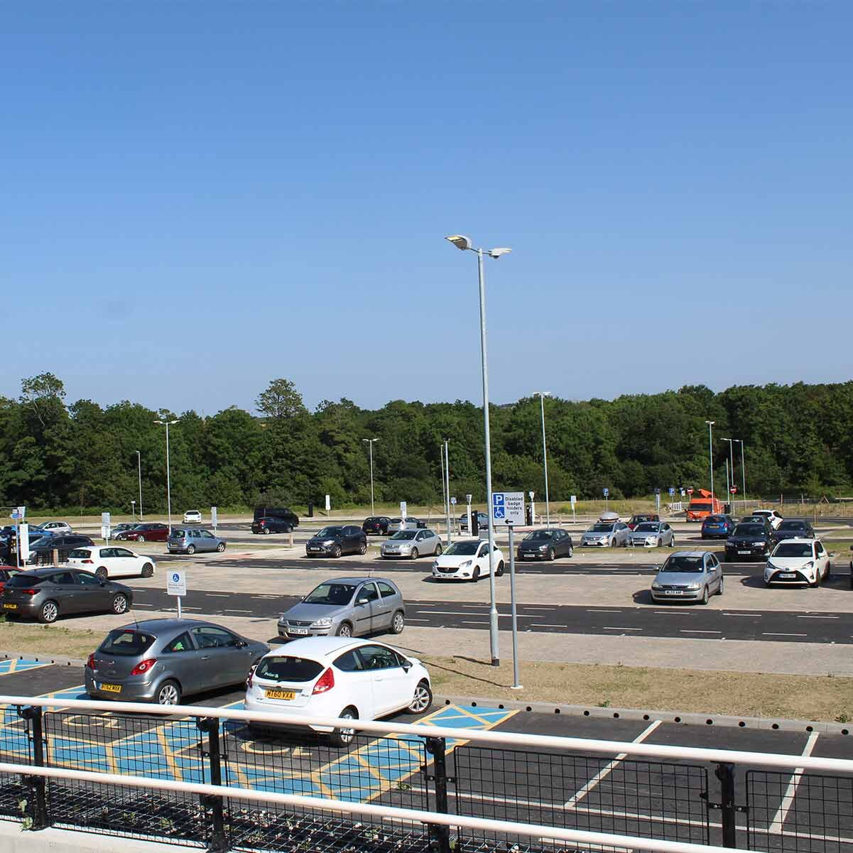 St Erth station south car park
