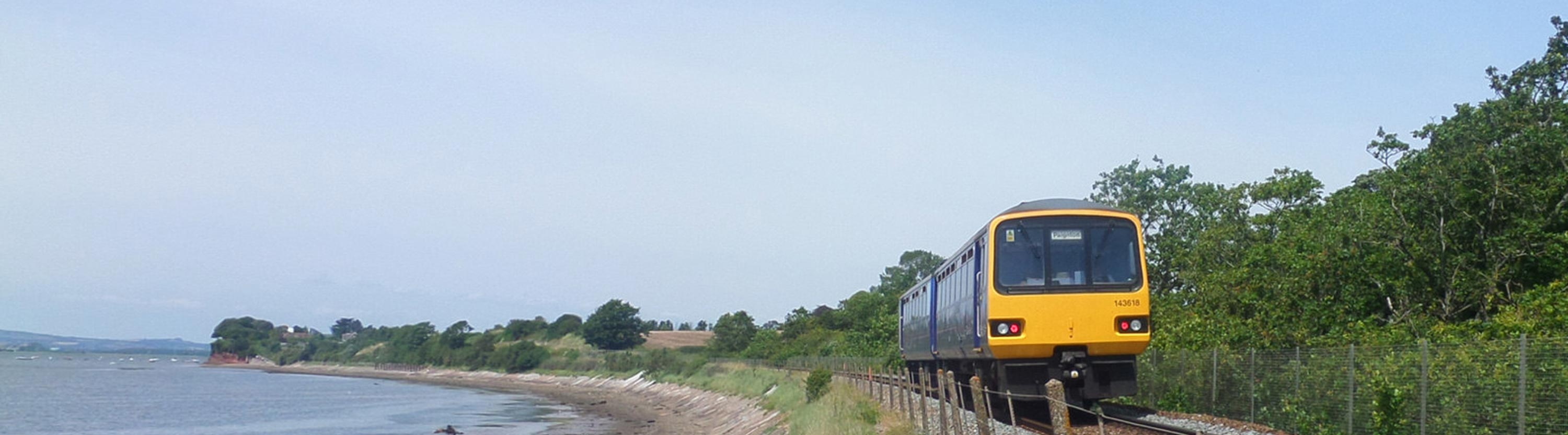 Train on Avocet Line - photo by Mark Lynam
