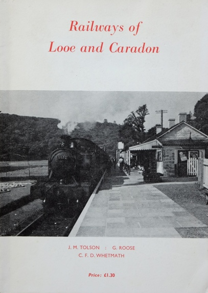 Railways of Looe and Caradon - book cover